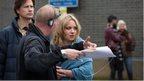 Filming EastEnders