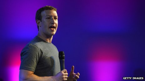 Mark Zuckerberg, Facebook chief executive