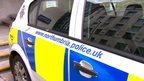 Northumbria Police car