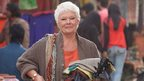 Dame Judi Dench in The Second Best Exotic Marigold Hotel