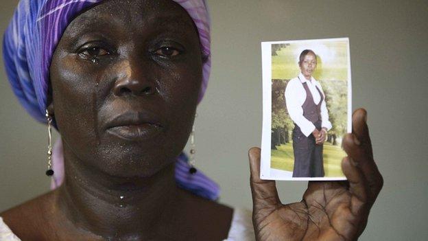 Mother of Chibok kidnapped schoolgirl