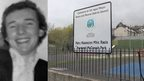 Raymond McCreesh and the park named after him