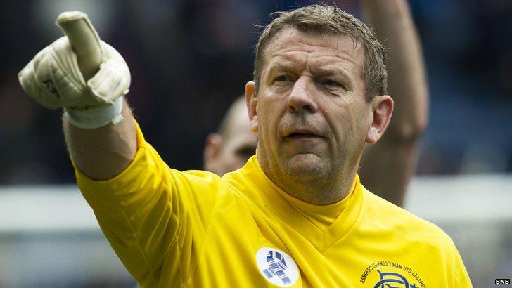 Former Rangers goalkeeper Andy Goram