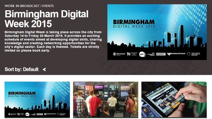 Birmingham Digital Week 2015