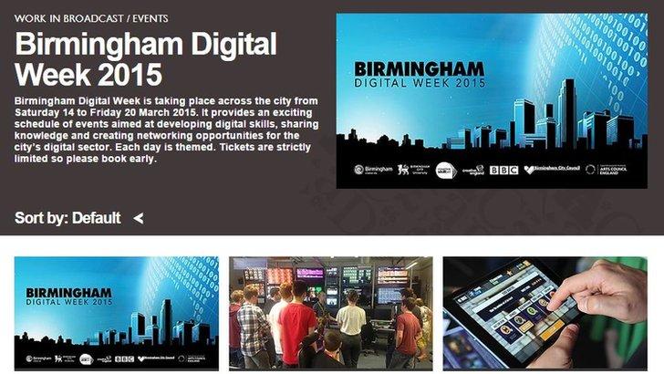 Birmingham Digital Week 2015
