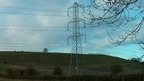 Pylon in Pewsey Vale
