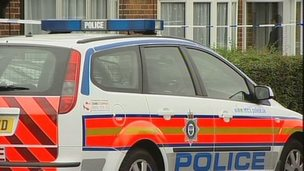Leicestershire Police car