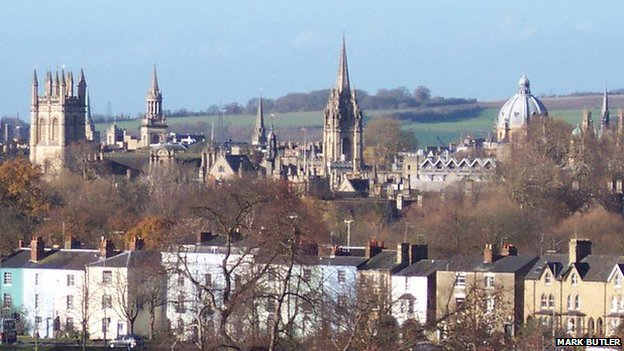 Oxford: City of dreaming spires and dirty old (foeign men)