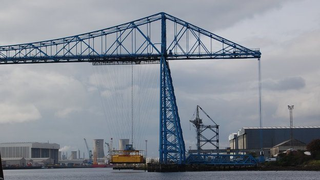 Middlesbrough's Transporter Bridge