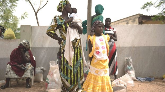 Refugees in Yola