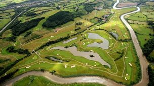 Celtic Manor Resort course