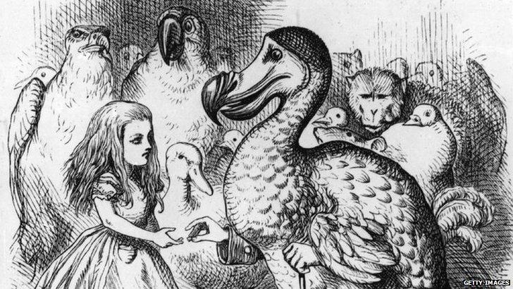 Image from 1st edition of Alice in Wonderland