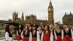 Bulgarians in London