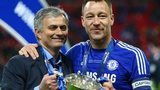 Chelsea manager Jose Mourinho and captain John Terry
