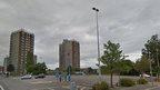 Garibaldi car park in Grimsby