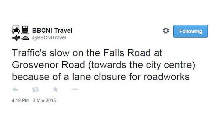 traffic tweet