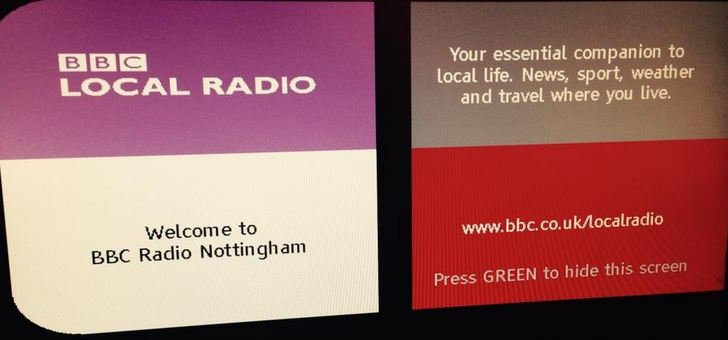 BBC Radio Nottingham on Freeview