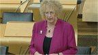 Welfare Minister Margaret Burgess