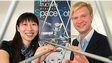 Fujia Chen and Julian Jantke, co-founders of Oxford Space Structures