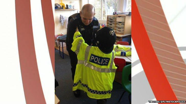 Police school day