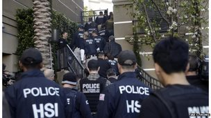 Federal Police raiding suspected 'maternity hotel'