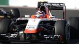 Max Chilton driving the 2014 Marussia