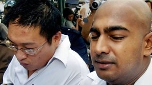 Andrew Chan and Myuran Sukumaran, pictured in 2006