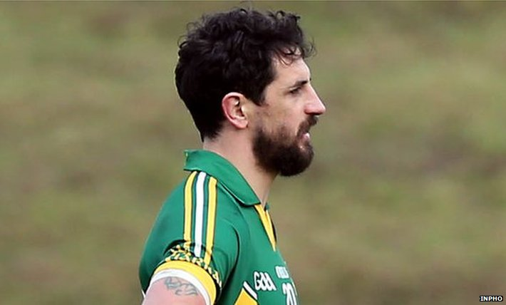 Paul Galvin during his final Kerry match in the recent McGrath Cup final