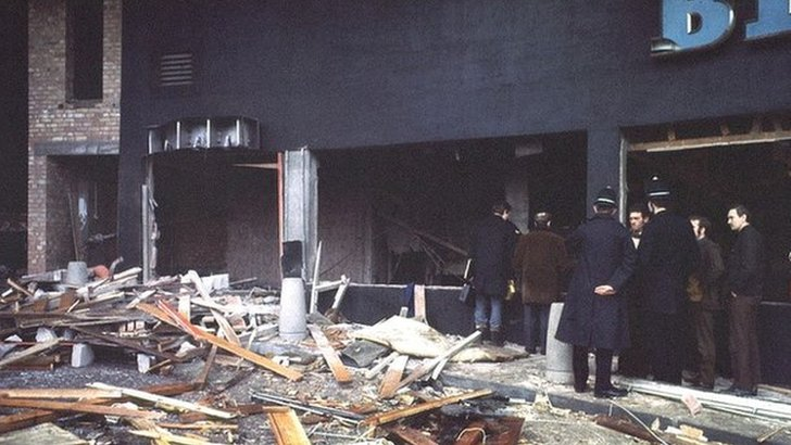 Pub bombings aftermath