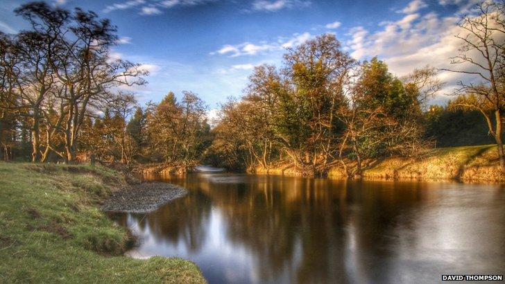 River Wansbeck Mitford
