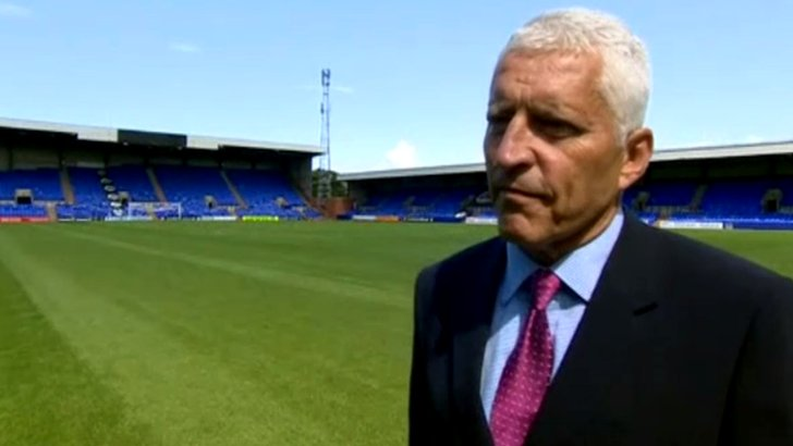 Tranmere owner Mark Palios