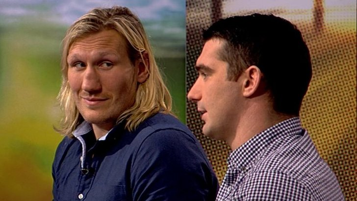 Eorl Crabtree (l) and Matty Smith
