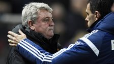 Steve Bruce and Gus Poyet