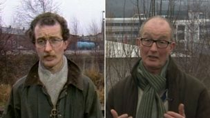 Richard Wells 30 years ago and now