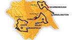 Map of Tour de Yorkshire