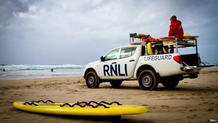 RNLI lifeguard
