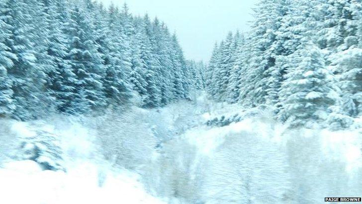 Limavady snow
