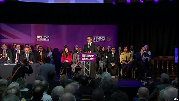 Steven Woolfe at UKIP immigration speech