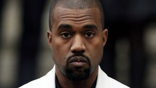 BBC - Newsbeat - Kanye West dazzles with star line-up at impromptu gig
