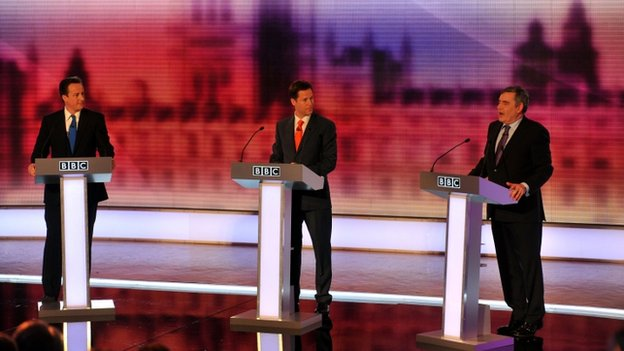 Leaders' election debate from 2010