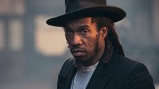 Dub poet and Aston Villa fan Benjamin Zephaniah