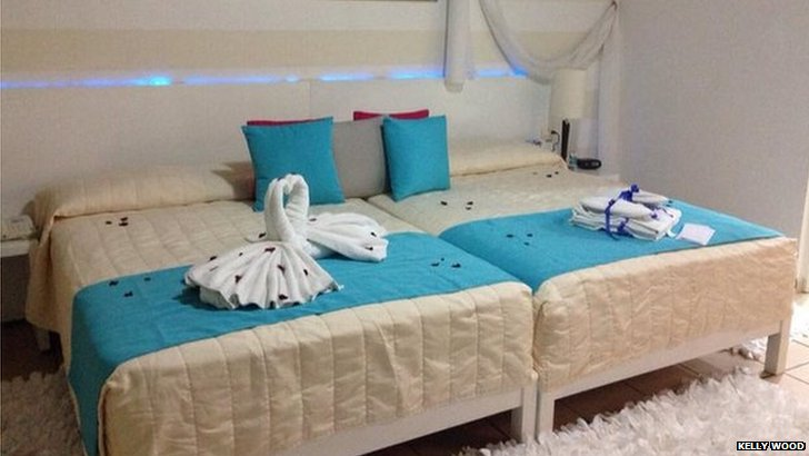 Honeymoon beds