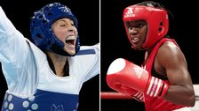 Jade Jones and Nicola Adams