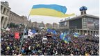Crowd in central Kiev, 1 Dec 13