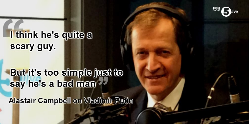 Alastair Campbell quote