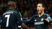 Eden Hazard and Ramires