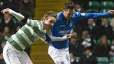 Celtic's Stefan Johansen and St Johnstone's Chris Millar