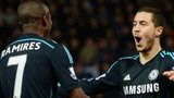 Eden Hazard and Ramires