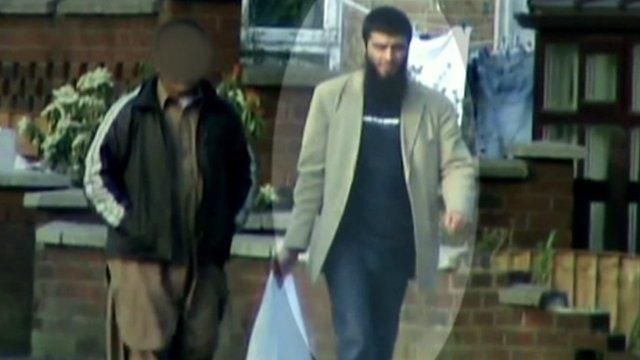 VIDEO: Surveillance footage of Abid Naseer...
