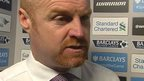 VIDEO: We didn't do enough to win - Dyche